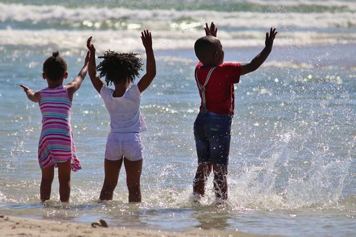 Cuidados Indispensáveis Com Crianças No Verão