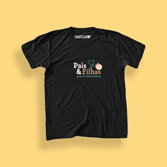 Camiseta Paisefilhas