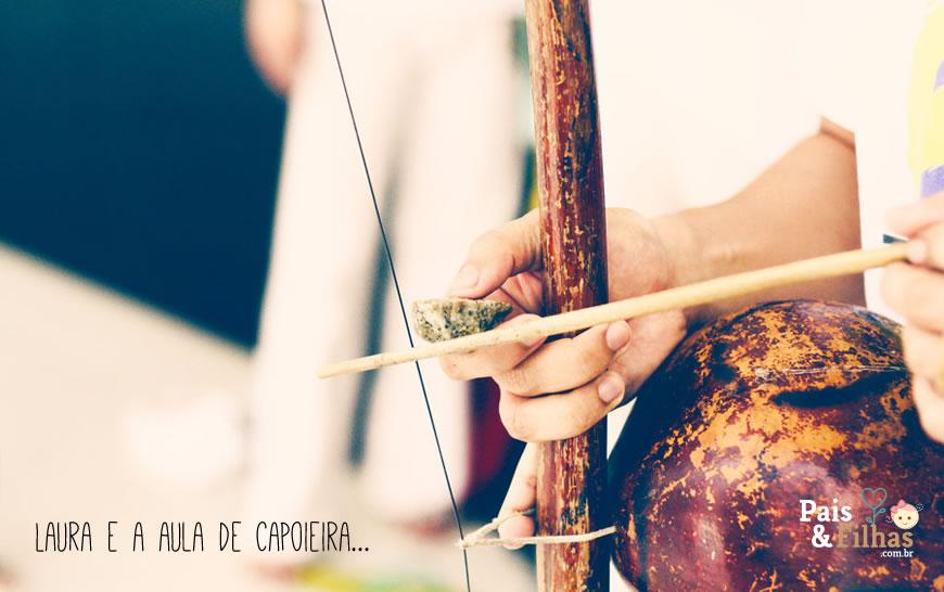 Laura E A Aula De Capoeira…