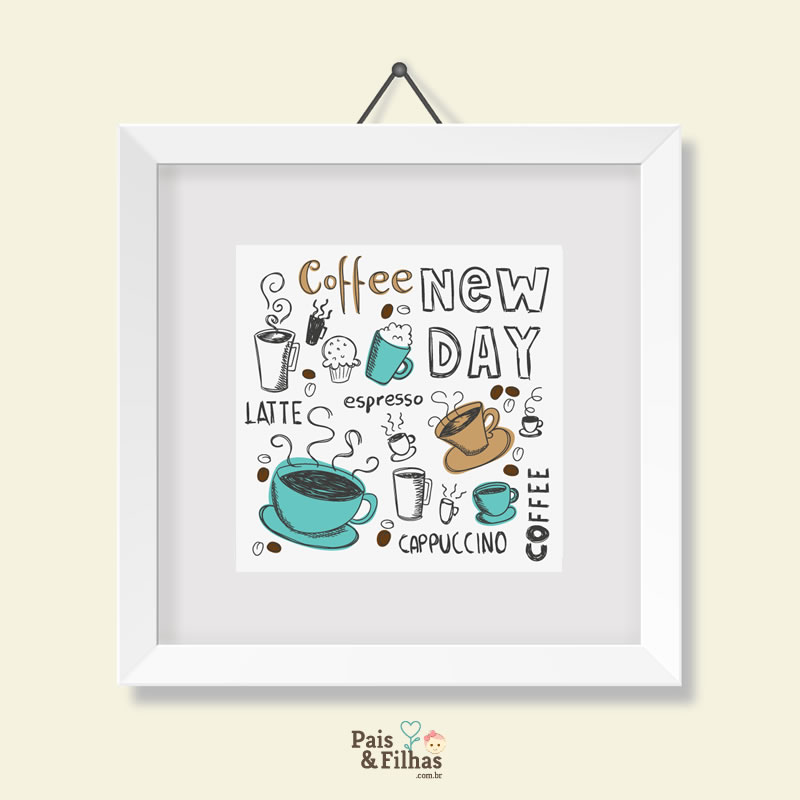 Quadro Café New Day