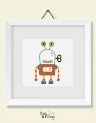Quadro Coleção Robôs