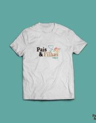 Camiseta Pais E Filhas