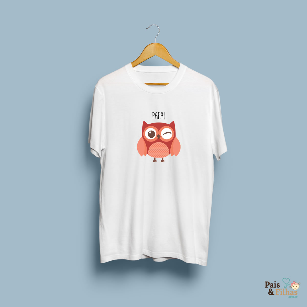 T Shirt Pai Coruja