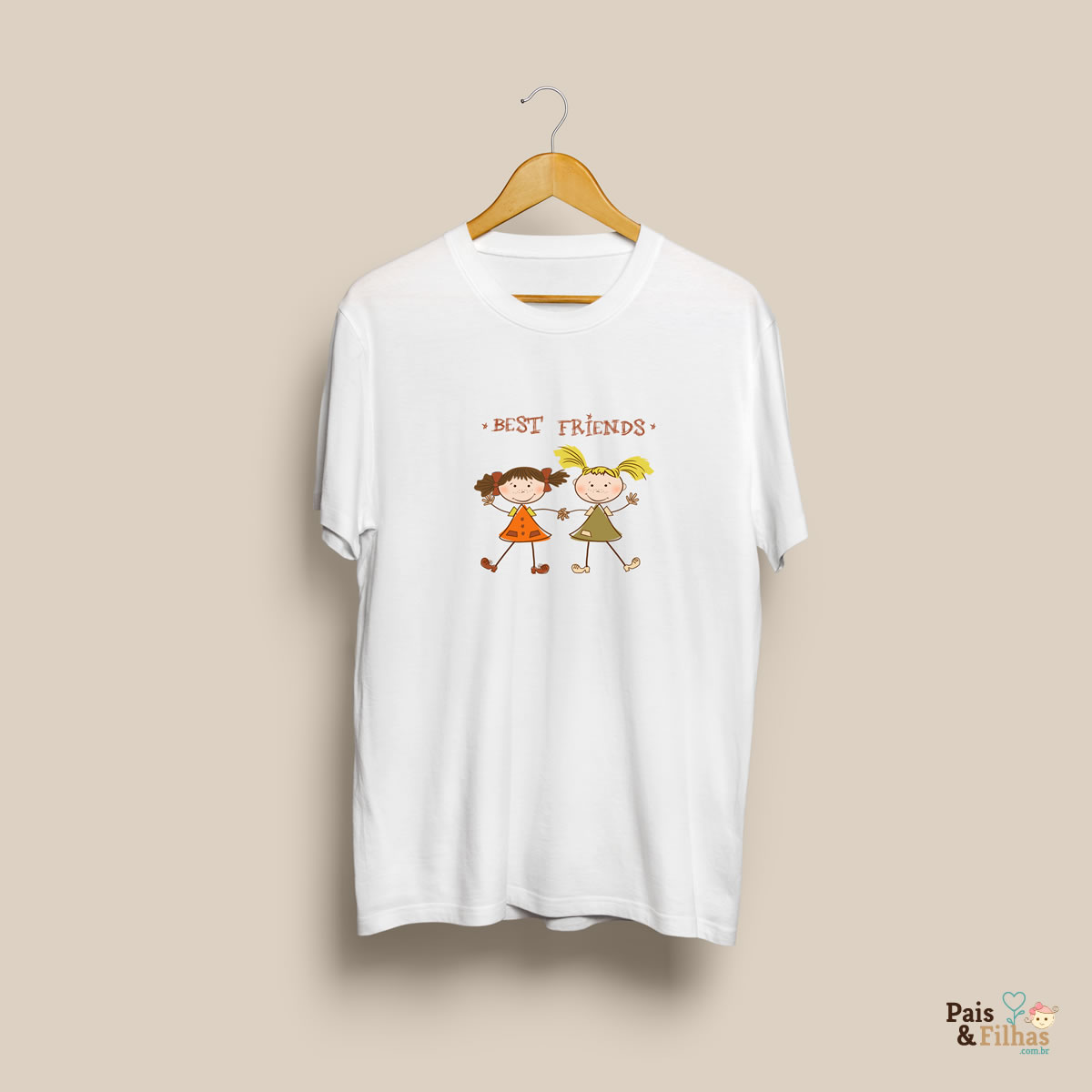 Camiseta personalizada Best Friends
