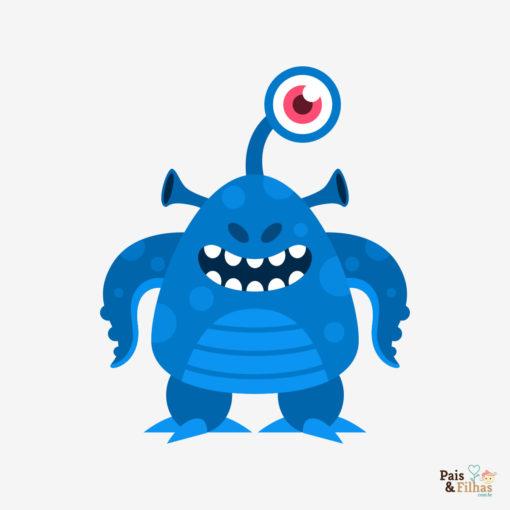 Camiseta Colecao Monstros02 Badge