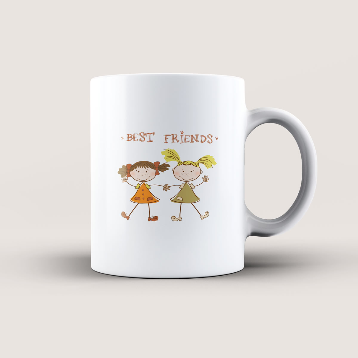 Caneca Best Friends