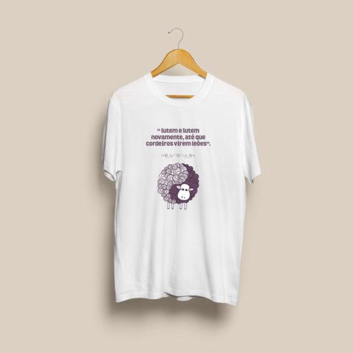 T Shirt Leoes Em Cordeiros FINAL