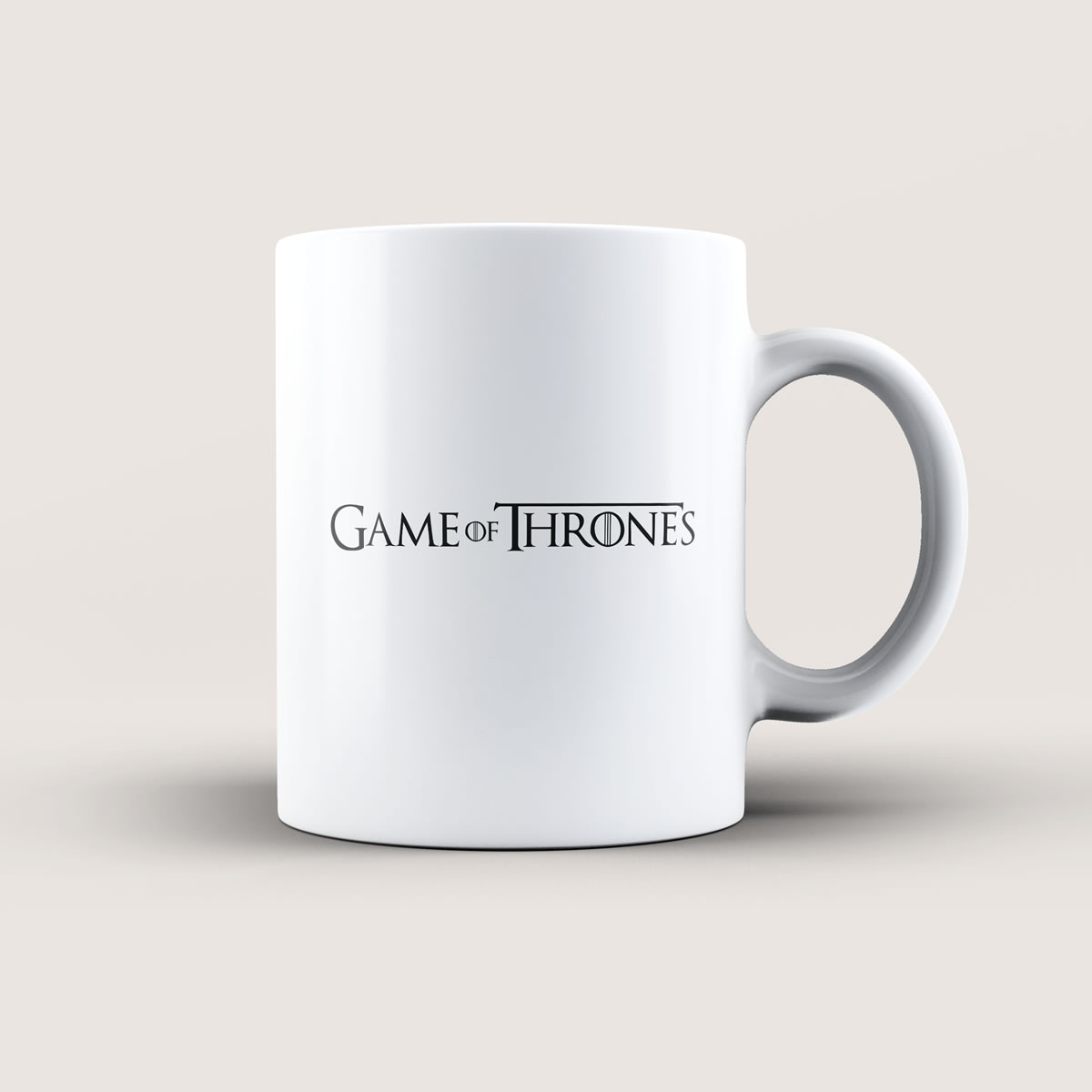 Caneca Game Of Thrones Branca