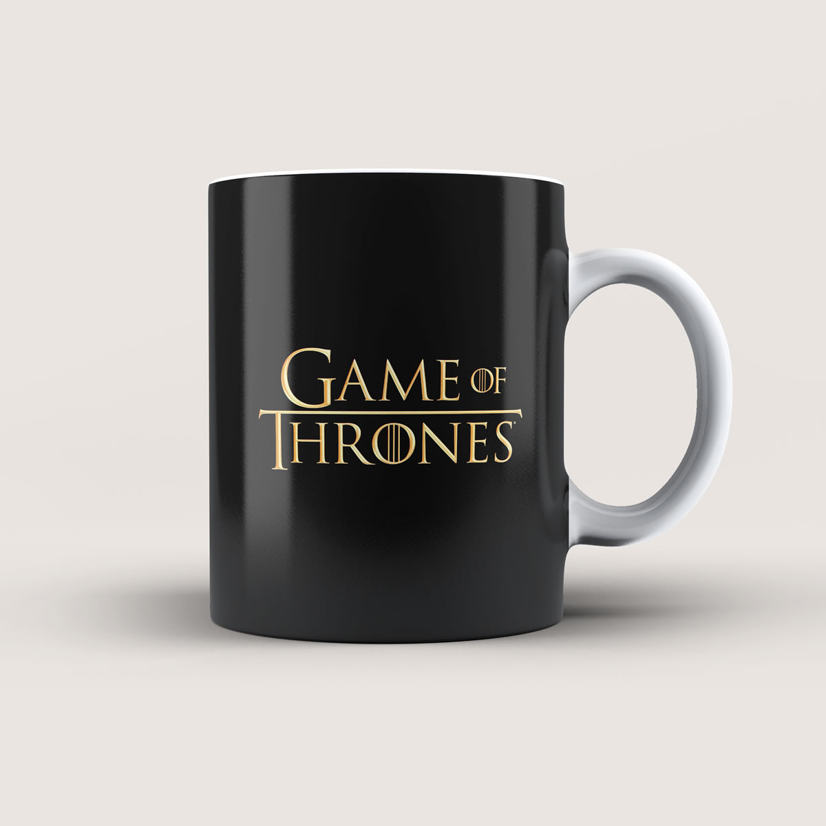 Caneca Game Of Thrones Dourada