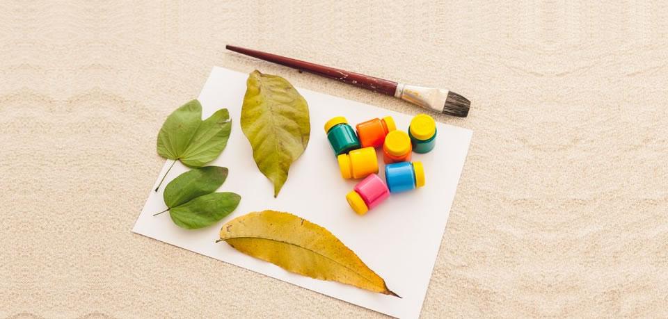 Usando Tintas Com Crianças – Parte 1